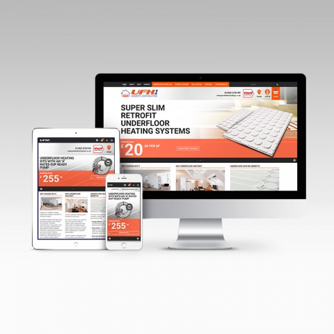 Ecommerce Website for UFH1