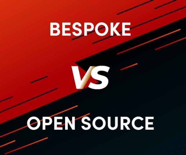 Bespoke vs. Open Source Websites