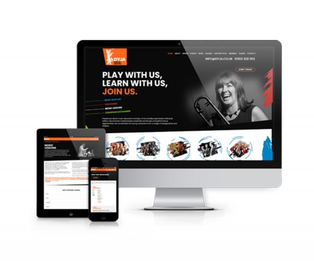 Vibrant, Bespoke new Website for DYJA