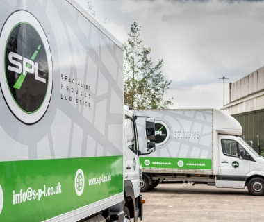 Keane drive local logistics company forward with new van wraps