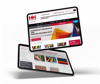 Keane fabricate a new online presence for felt & foam supplier, Hardy & Hanson