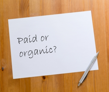 What's the point in your post? A look into organic vs. paid media